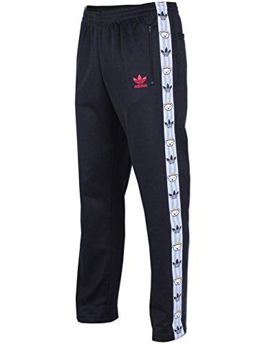 adidas Retro Herren Hose Bear Trac M schwarz/rot