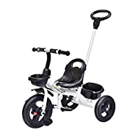 WLD Training Bike Frame Stroller Baby Scooter Multifunction Kids Tricycle Push and Ride Children Bicycle Portable Seat Outdoor Tricycle