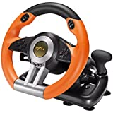 PC Racing Wheel, PXN V3II 180 Degree Universal Usb Car Sim Race Steering Wheel with Pedals for PS3, PS4, Xbox One,Xbox Series
