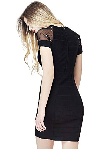 Guess Damen Kleid Ss Rn Marta Black