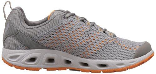 Columbia Drainmaker Iii, Chaussures de Sports Aquatiques Homme Gris (Columbia Grey, Orange Blast 039)