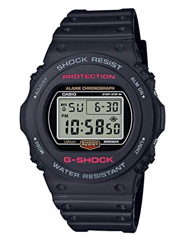 Casio Hommes Digital Quartz Montre avec Bracelet en Plastique DW-5750E-1ER
