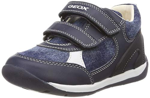 Geox Baby Each Boy, Zapatillas Bebés, Azul Navy C4002