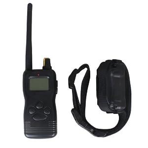 Collier de dressage électrique pour chien 3 modes avec Télécommande 1000 m de portée- en plein air ? pour 3 chiens)