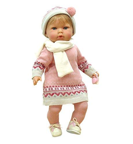 Artesanals Nines d'Onil 1080 - Tita, Bambola bebè con succhietto