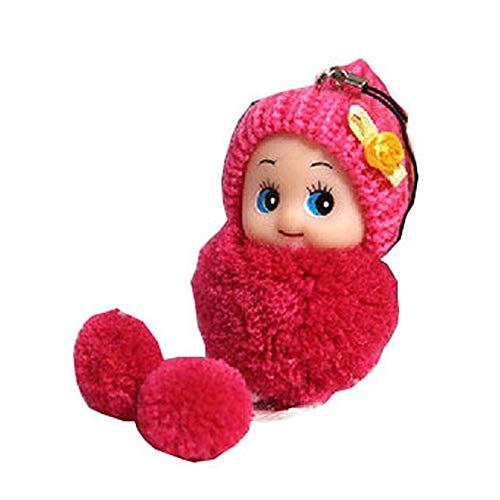 kafiGC8 Niedlicher Hut Ball Cartoon Puppe Anhänger Schlüsselkette Tasche hängende Ornament Kinder Spielzeug
