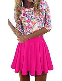 e80f6bf809 QAQBDBCKL Nueva Sweet Kawaii Una Línea De Vestido Estampado Floral Playa  Vestidos De Verano Robe Femme