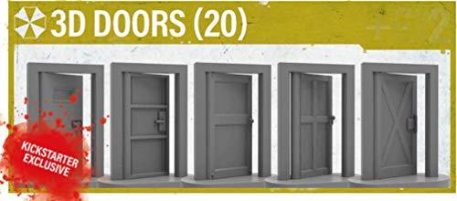 Resident Evil 2: The Board Game - 3D Door Upgrade