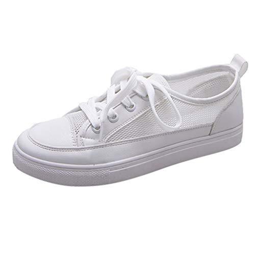 friendGG❤Damenmode Flache Schuhe Mesh kleine weiße Schuhe Faule Schuhe Flache Schuhe Stoffschuhe Lazy Atmungsaktive Schuhe Freizeitschuhe Bootsschuhe Sportschuhe Outdoorschuhe Turnschuhe Halbschuhe