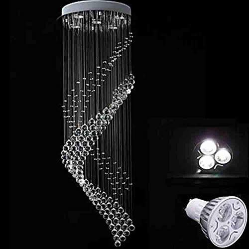 Zhang Ying ZY * 5-Light Pendelleuchte Downlight - Kristall, LED, 110-120V / 220-240V, Warmweiß/Kaltweiß, Inklusive Leuchtmittel / GU10 / 10-15 10?