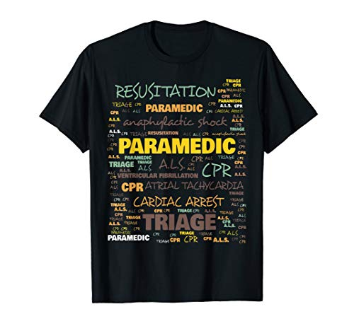 Häufig verwendete Begriffe für Rettungssanitäter T-Shirt
