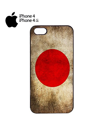 Japan Flag Vintage Retro Japanese Nihon Mobile Phone Case Cover iPhone 6 Plus + White Noir