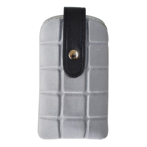 Croco® SCKKC pouch case for Apple iPhone SE 5 5s 5c iPhone 4 4s (Grey)  available at amazon for Rs.199