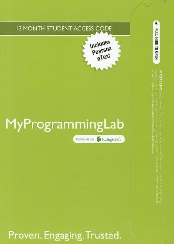 MyProgrammingLab with Pearson eText -- Access Card -- for Absolute C++ (5th Edition) by Pearson Education (2012-03-02)