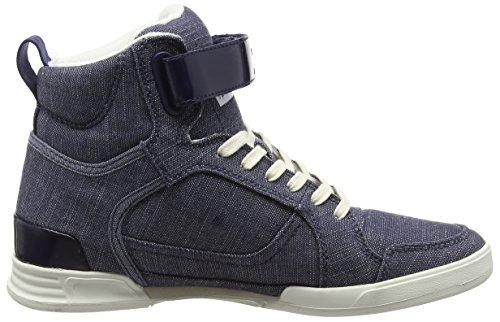 G-Star YIELD WMN, Sneakers Basses femme Bleu (chambray)