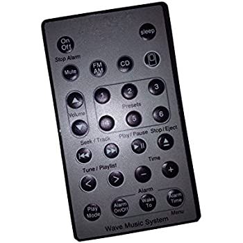 bose remote control. new replacement remote control for bose wave music system awrcc2 awrcc5 awrcc6 5 multi cd changer