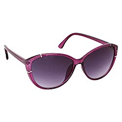 Roycee Womens Purple Cateye Sunglasses (RC 802-06)