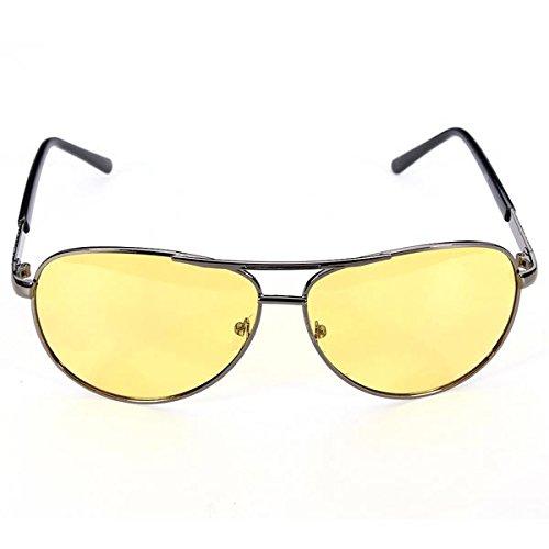 Pinkfishs Polarizzato Occhiali da Sole UV Visione Notturna Occhiali da Vista UV400 -