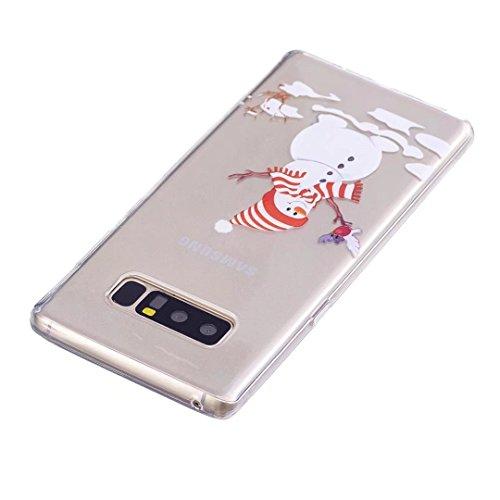 coque iPhone 5/5S/5SE silicone Doux TPU noël séries super léger et mince haute transparence étui pour téléphone case cover DECHYI SD# 3