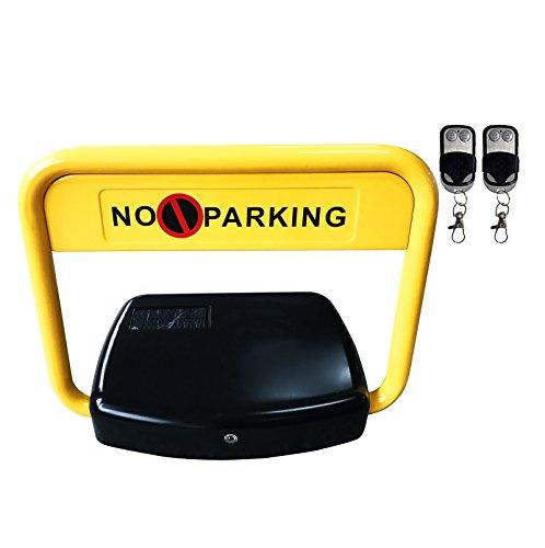 8003034 Parkplatzsperre - Parkplatzbügel SOLAR mit 2 Fernbedienungen - Grösse XL EXTRA BREIT