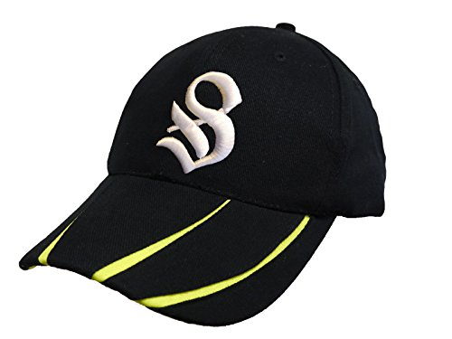 Preisvergleich Produktbild Unisex Cotton Kappe Baseball Damen Herren HUT Mütze Cap Caps Gothic 3D A-Z Snapback Snap Back (S)