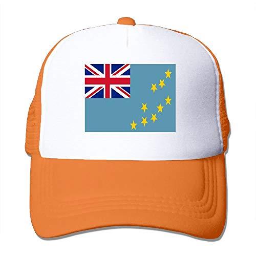 Baseball Caps Flag of Tuvalu Mesh Caps Trucker Hat Adjustable Hat, Unisex - Tuvalu Cap