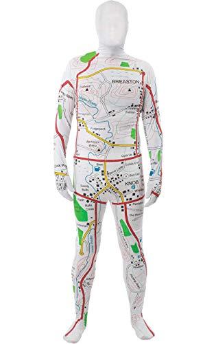 Orion Costumes Costume Aderente Mappa della Città