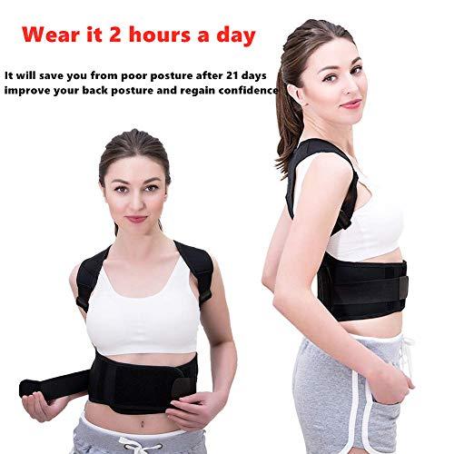 Zoom IMG-1 kindax correttore postura schiena regolabile