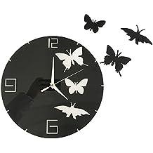 horloge murale en chiffre romain. Black Bedroom Furniture Sets. Home Design Ideas