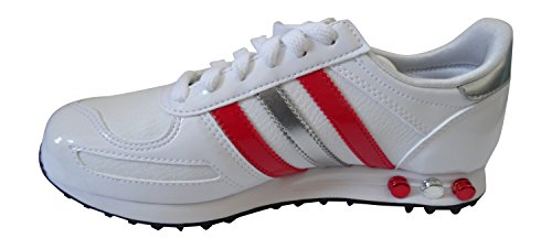 Adidas Originals La Trainer der Frauen-Trainer-Turnschuhe (uk 3,5 Us 5 Eu 36, Megrhe / blubir / Blü WHY/POPPY/METSIL V22008