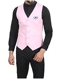 b85d226be77 Pinks Men s Waistcoats  Buy Pinks Men s Waistcoats online at best ...