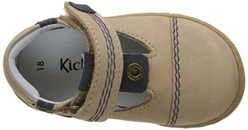 Kickers Tropico, Sandales Bébé Garçon Beige (Beige)