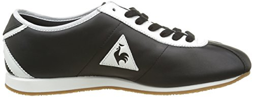 Le Coq Sportif Wendon, Baskets Basses Mixte Adulte Noir (Black/Optical White)
