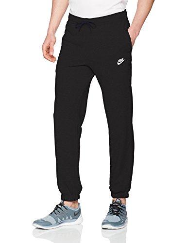 Cuffed Capri Hose (Nike Herren Sportswear Cuffed French Terry Club Hose, Black/White, S)