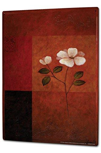 cartello-targa-in-metallo-xxl-floreale-flora-yasmin