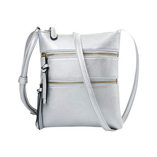 Mitlfuny handbemalte Ledertasche, Schultertasche, Geschenk, Handgefertigte Tasche,Women New Functional Multi Pocket Umhängetasche Messenger Schultertasche