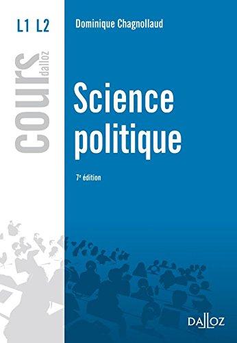 Science politique - 7e d.: Cours