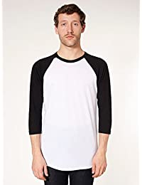 American Apparel - T-shirt à manches 3/4 - Homme