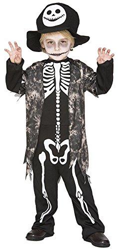 Imagen de disfraz de esqueleto niño 4  6 años