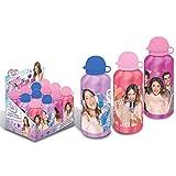 euroswan–86762–Violetta Trinkflasche Alu–500ml