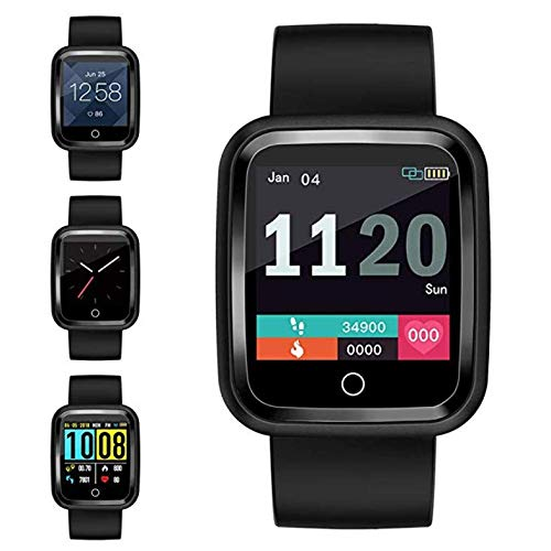 Fitness Tracker Smart Watch Sportmodi Bluetooth wasserdichte Kindersportuhr mit Meldung Erinnern Herzfrequenz Blutsauerstoffdruckmessgerät iOS Android-Uhren für Männer Frauen Jungen Mädchen (Fitness-tracker Schwimmer)