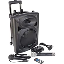 Ibiza PORT8VHF-BT - Sistema de sonido portátil y autónomo, 400 W, ...