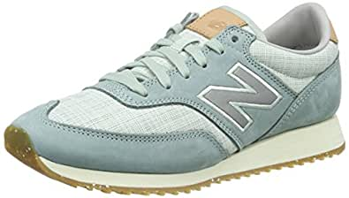 New Balance Damen cm_CW620GV1 Sneakers, Grau (Grey/Green/White), 37 EU