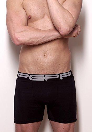 Pepp Underwear Herren Boxershort Schwarz