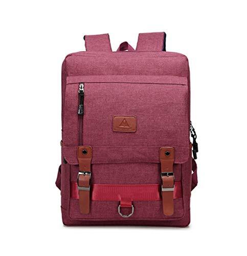 HF morning Nylon Notebookrucksack Leicht Wasserdicht Laptoptasche Mode Arbeit Schultasche Groß Herren Rucksack Business Einfarbig 15 Zoll Laptop Backpack