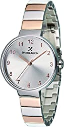 Daniel Klein Analog Silver Dial Womens Watch-DK11411-7
