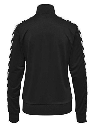 Hummel Damen Hmlnelly Zip Jacket Jacke Caviar/Caviar