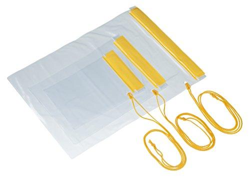 TRIXES 3 wasserdichte, trockene Taschen für Kameras, Handys, iPad in Rucksäcken