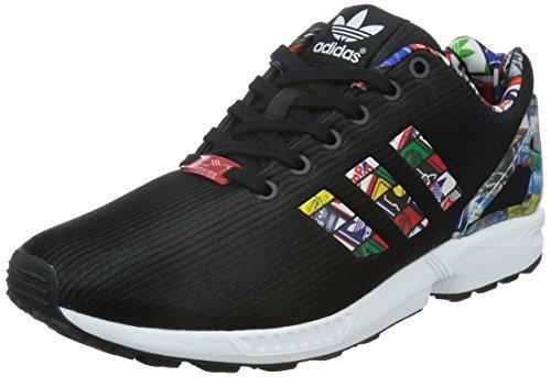 adidas - Zx Flux, Scarpe da ginnastica Uomo Nero/Bianco