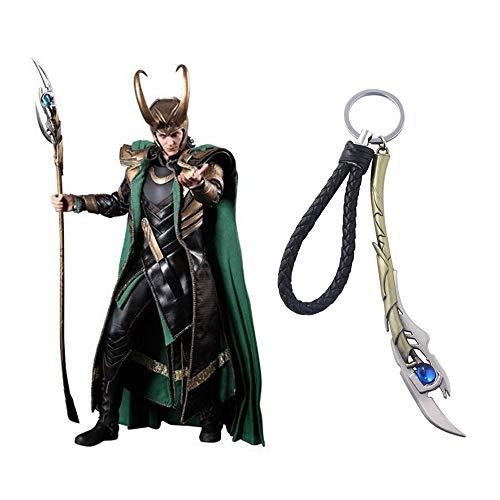 TUDUDU Joyas De Marvel Los Vengadores 4 Loki Cetro